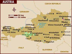 Austria map 001