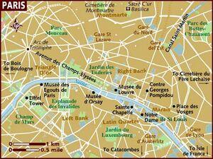 Paris map 001