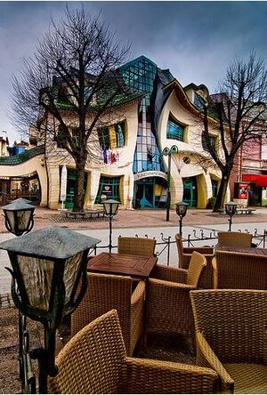 Crooked house-Sopot-Holland