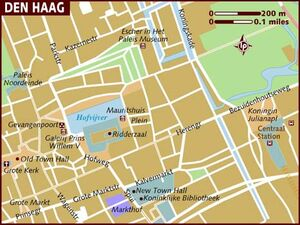 The Hague map 001
