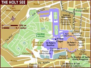 Vatican City map 001