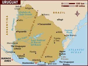 Uruguay map 001