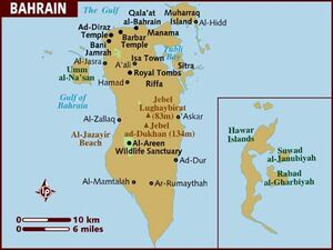 Bahrain map 001