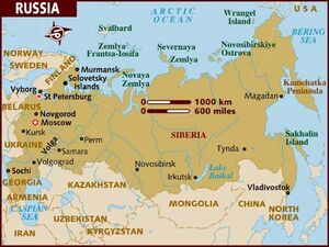 Russia map 001