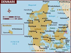 Denmark map 001