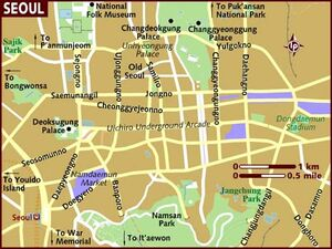 Seoul map 001