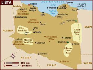 Libya map 001