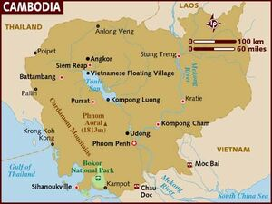 Cambodia map 001