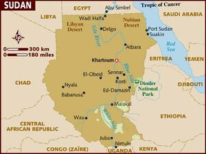 Sudan map 001