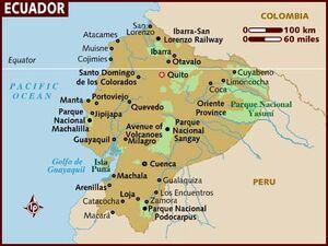 Ecuador map 001