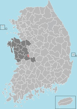 Gyeryong map 001