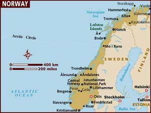 Norway map 001