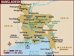 Bangladesh map 001