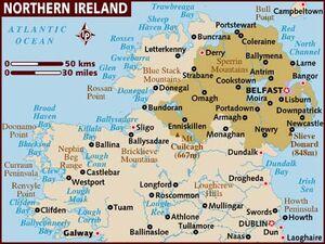 Northern Ireland map 001