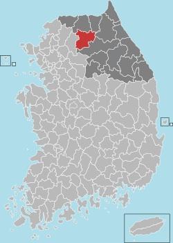 Chuncheon map 001