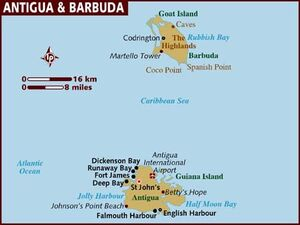 Antigua and Barbuda map 001