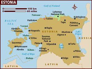 Estonia map 001