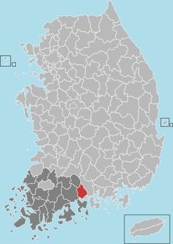 Gwangyang map 001