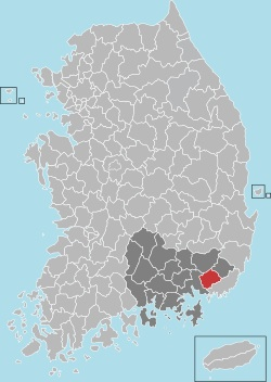 Gimhae map 001