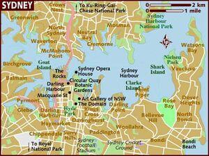 Sydney map 001