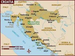 Croatia map 001
