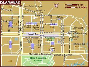 Islamabad map 001