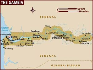 Gambia map 001