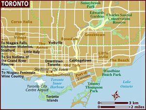 Toronto map 001
