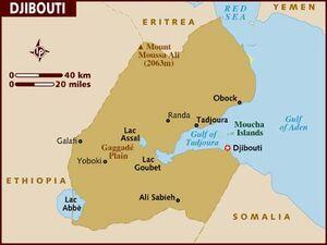 Djibouti map 001
