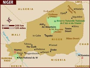 Niger map 001