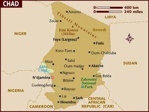 Chad map 001
