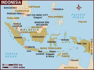 Indonesia map 001