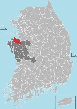 Dangjin map 001