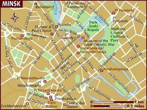 Minsk map 001