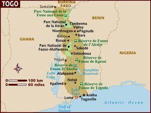 Togo map 001