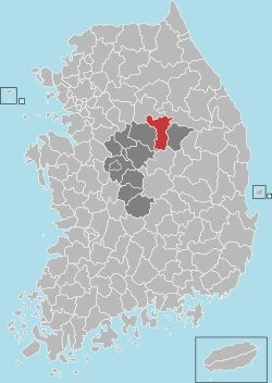 Jecheon map 001