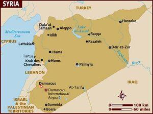 Syria map 001