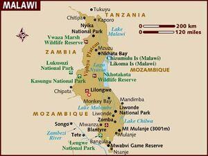 Malawi map 001