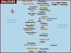 Maldives map 001