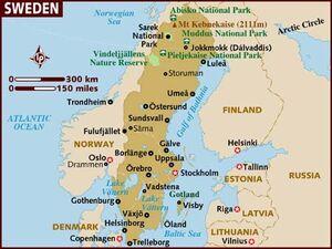 Sweden map 001