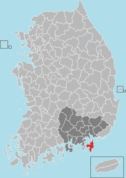 Geoje map 001