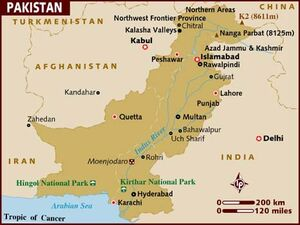 Pakistan map 001