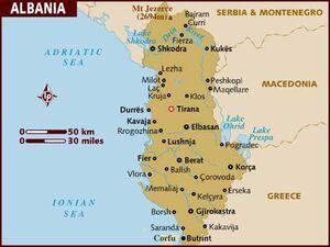 Albania map 001