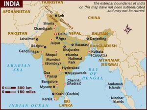 India map 001