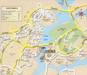 Putrajaya Map 001