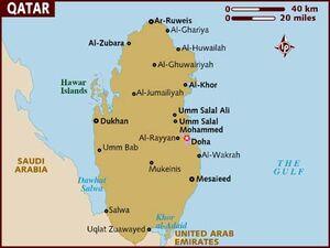 Qatar map 001