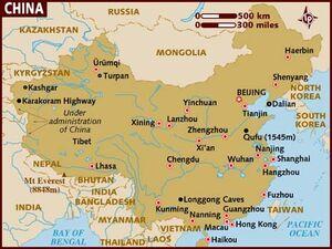 China Map 001
