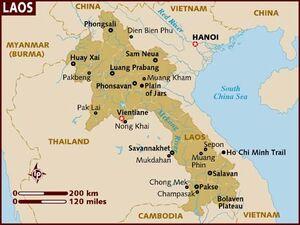 Laos map 001