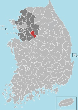 Icheon map 001