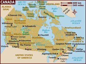 Canada Map 001